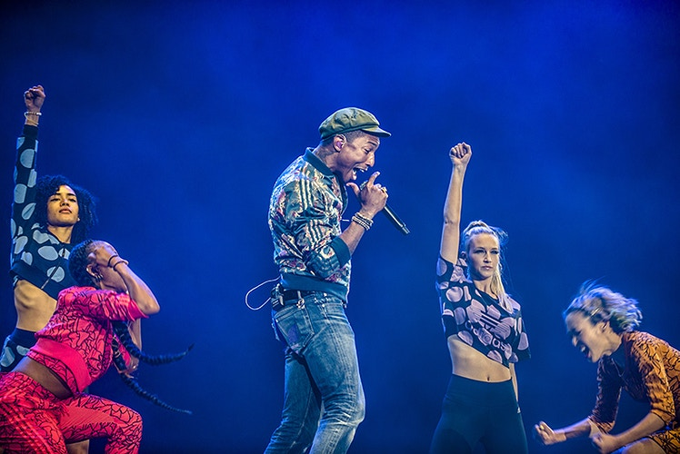 Pharrell Williams (Pinkpop Festival) - Andreas Terlaak Photography