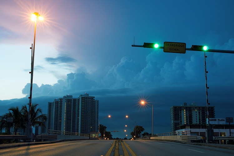 Rising Sun, Fort Lauderdale - ANDREW LITSCH, photographer