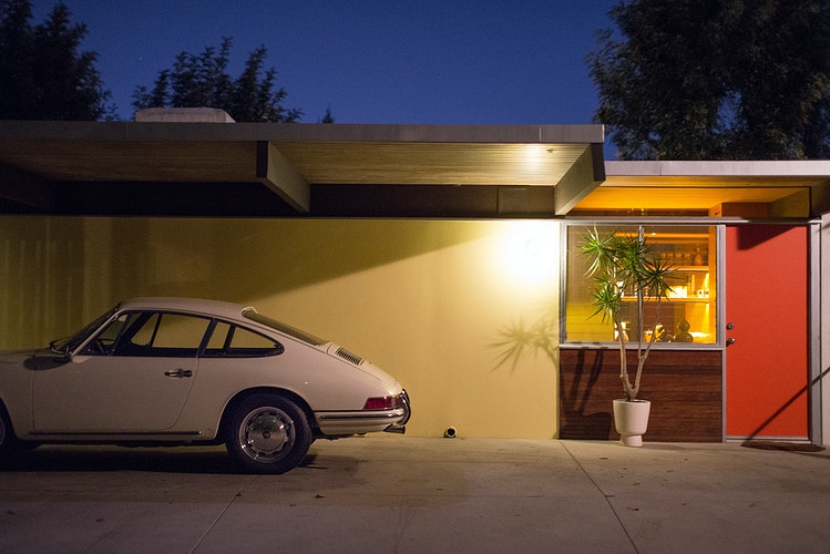 Evening Porsche, Los Angeles - ANDREW LITSCH, photographer