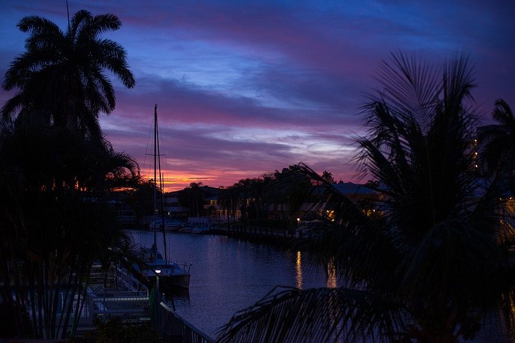 April Sunset, Fort Lauderdale - ANDREW LITSCH, photographer