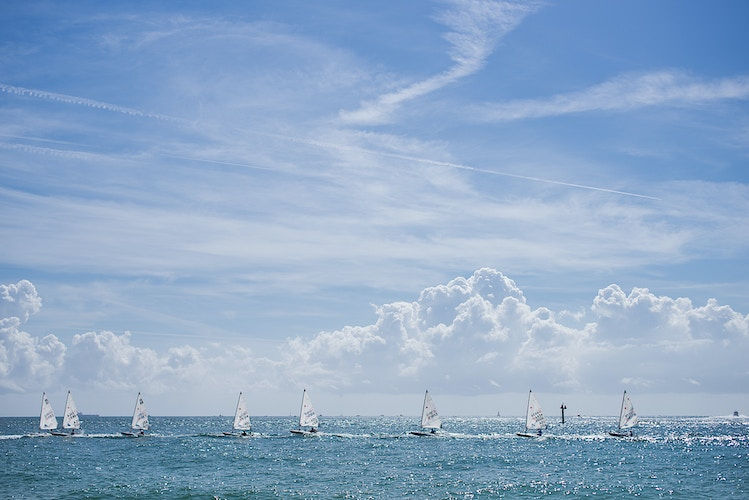 8 Sailboats, Fort Lauderdale - ANDREW LITSCH, photographer
