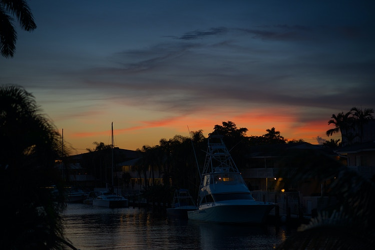 Sportfish Sunset, Fort Lauderdale - ANDREW LITSCH, photographer