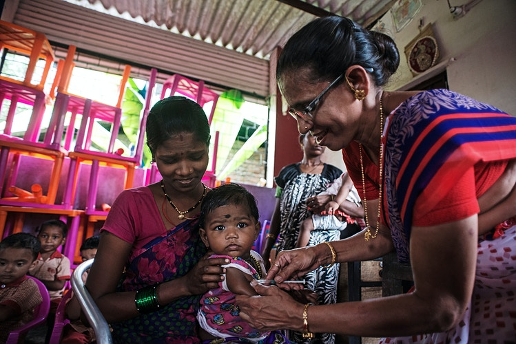 Corp Community Outreach Program India - Andrew Tonn Photography LLC