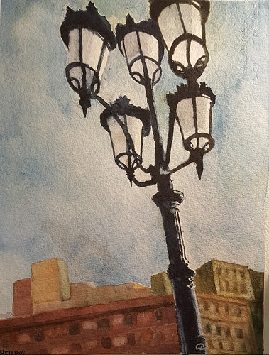 Barcelona Street Lights - Annescapes