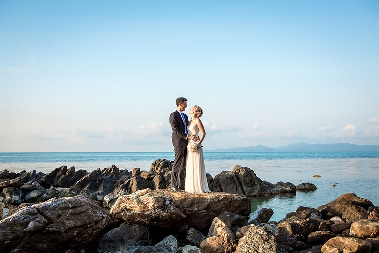 Elisa And Erwann - Koh Samui Photographer - Award Winning - Wedding - Couple - Honeymoon - Family