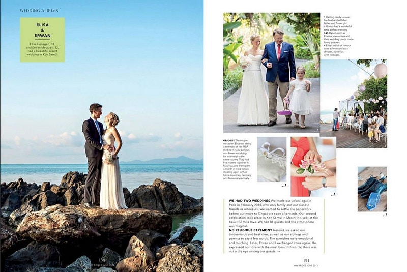 Publications - Koh Samui Photographer - Award Winning - Wedding - Couple - Honeymoon - Family
