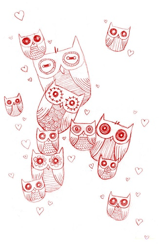 OWLS - MEGAN MARIE BISHOP