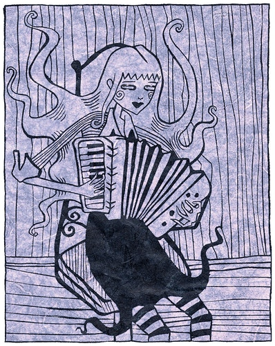 ACCORDION GIRL - MEGAN MARIE BISHOP