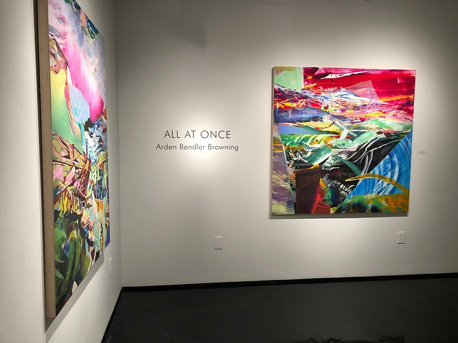 All At Once At Galleri Urbane Dallas And Tinney Contemporary Nashville - Arden Bendler Browning