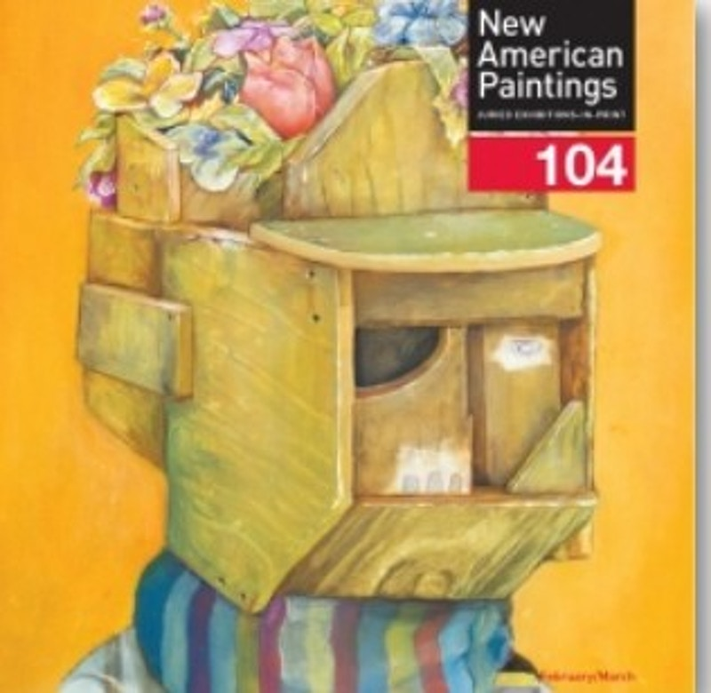 New American Paintings #104, Northeast Edition - Arden Bendler Browning