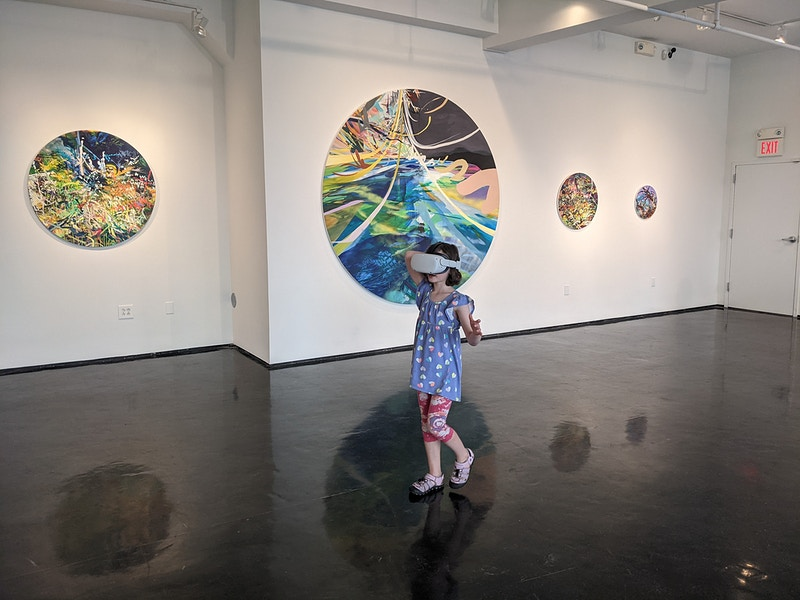 Solo Exhibition Escape Routes At Tinney Contemporary In Nashville July August 2021 - Arden Bendler Browning