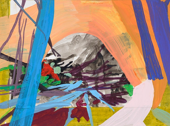Small Works On Panel Paintings And Collages - Arden Bendler Browning