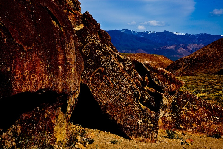 Petroglyphs - around the bend photos photography by Sheldon Ballard