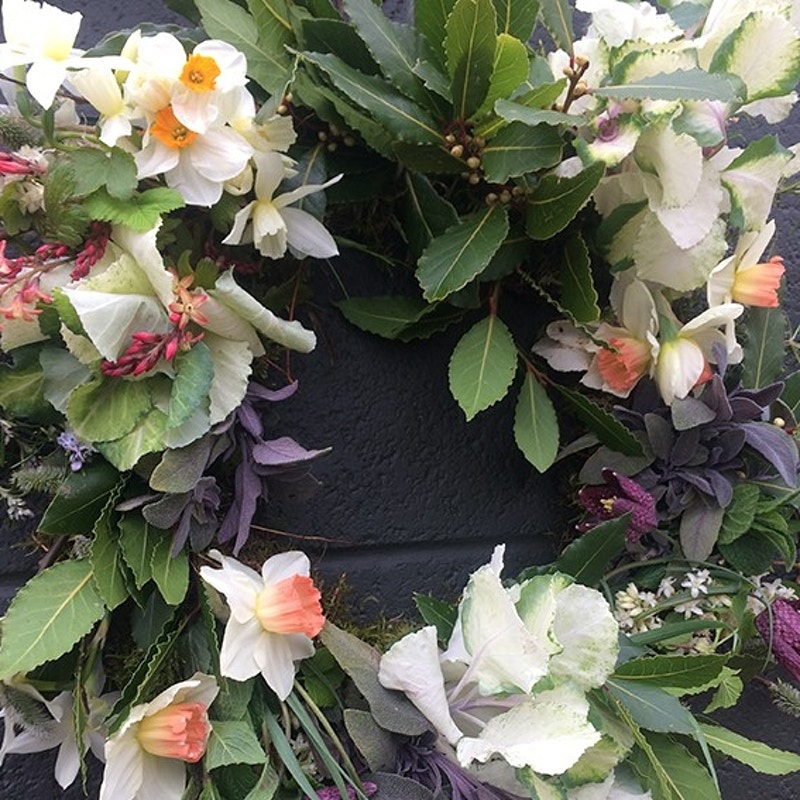 FUNERAL WREATH - FRESH FLOWERS - Ascott Gardens