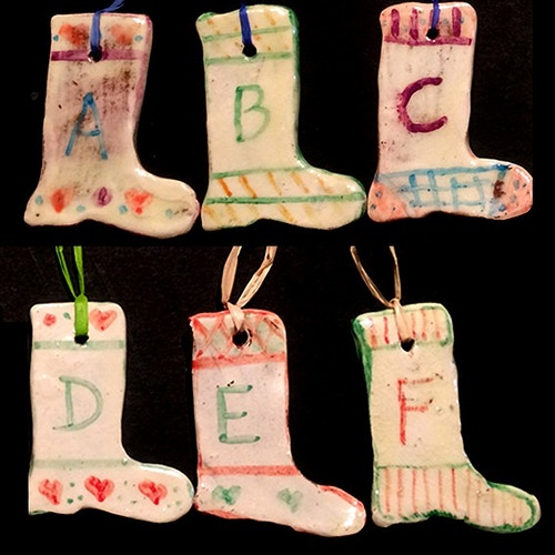 ALPHABET STOCKINGS A-F - Ascott Gardens