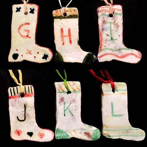 ALPHABET STOCKINGS G-L - Ascott Gardens