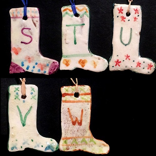 ALPHABET STOCKINGS S-W - Ascott Gardens