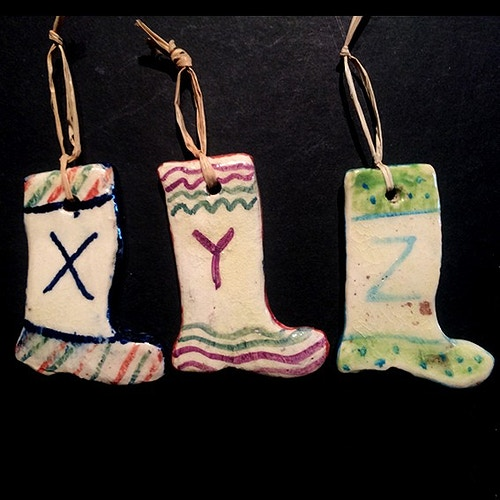 ALPHABET STOCKINGS X-Z - Ascott Gardens