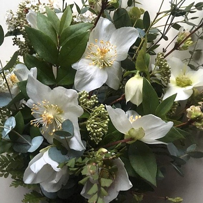 BRIDAL BOUQUET - WINTER - Ascott Gardens