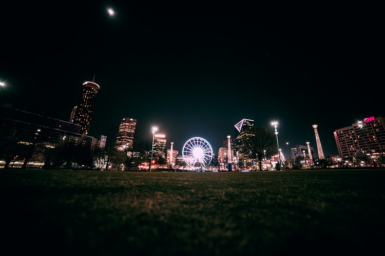 Centennial Olympic Park - Ashton Garner | Atlanta Photographer