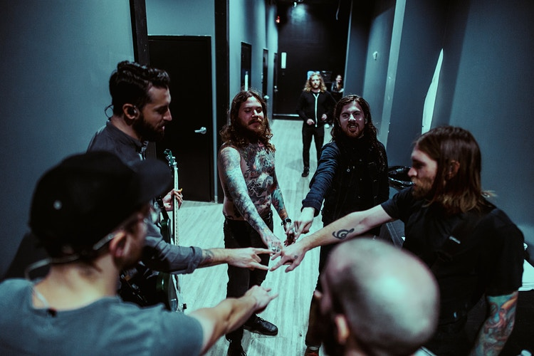 Pre-Show Huddle - Ashton Garner | Atlanta Photographer