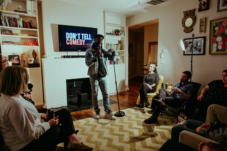 Don't Tell Comedy House Show - Ashton Garner | Atlanta Photographer