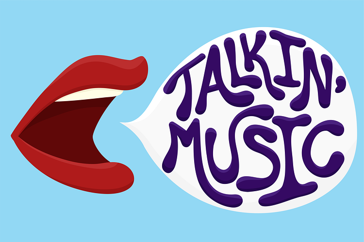 Talkin' Music Logo - Ashton Garner