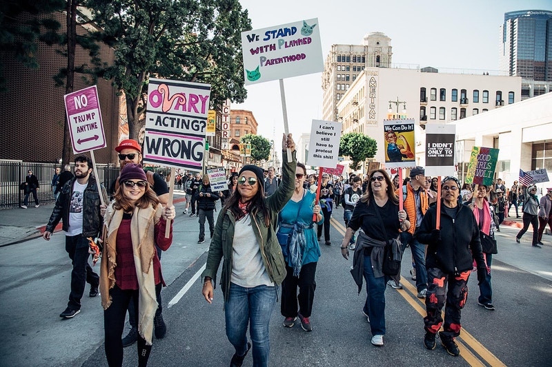 Los Angeles Women's March 2017 - Aaron Smith | asmith photography | Los Angeles, CA