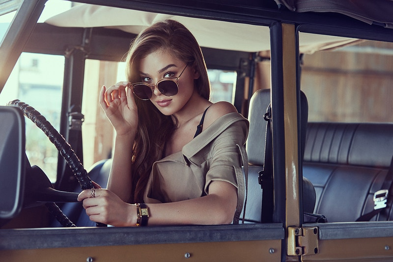 Hailee Steinfeld for Prive Revaux Campaign - Aaron Smith | asmith photography | Los Angeles, CA