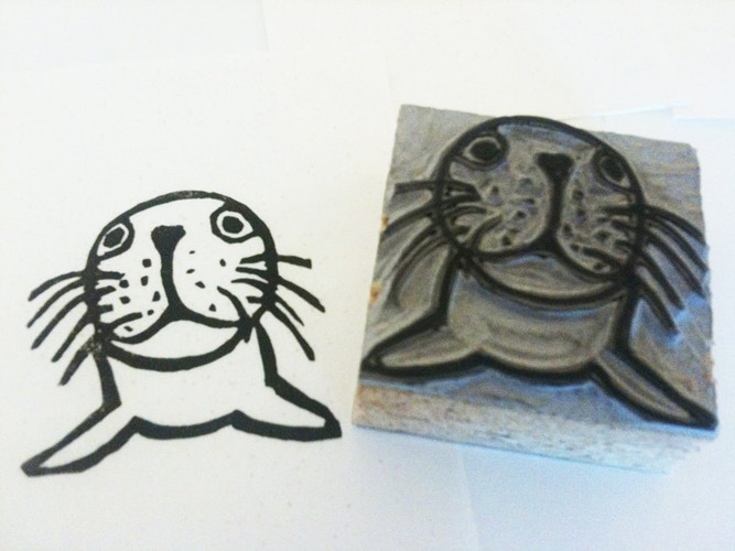 Seal Stamp 2 - Ayu Tomikawa ART