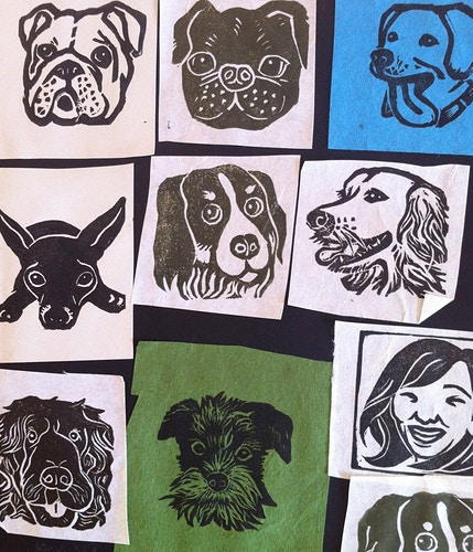 Custom Stamps Various Dogs - Ayu Tomikawa ART