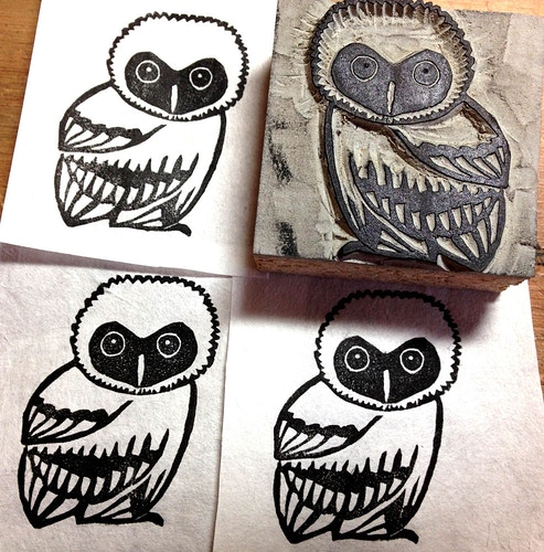 Regular Stamp: Owl - Ayu Tomikawa ART