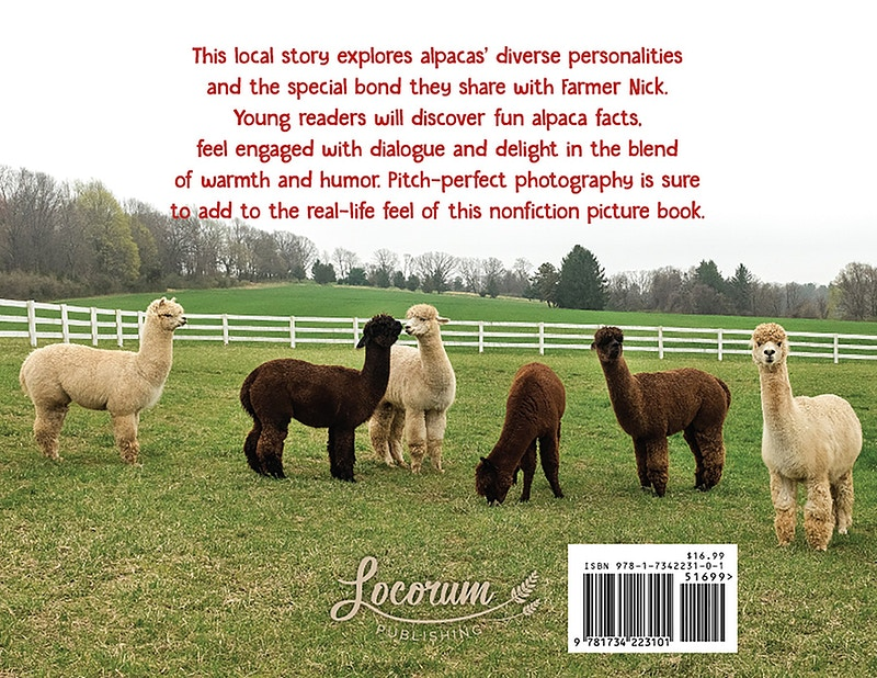 Alpacas At Bluebird Farm - Farm Animal Photography & Greeting Cards for Sale in NJ | Barnyard Moments