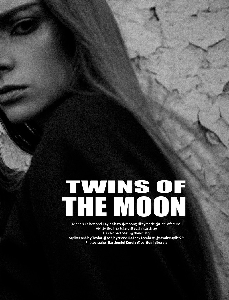 Twins Of The Moon Lovebite Magazine - Bartlomiej Kurela