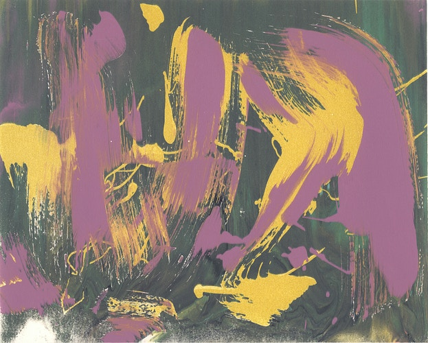 Silkscreen Monotype 12 - Becca Magrino I Photographer