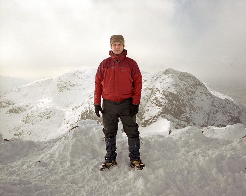 Me, Scafell Pike - Ben Anderson