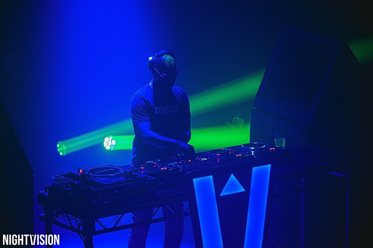 Greenvelvet Leith Theatre Perth Ice Factory - Ben Glasgow