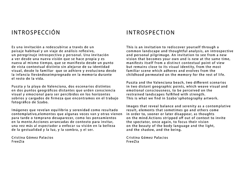Intro Spection The Book - BENJAMIN SZABO PHOTOGRAPHY