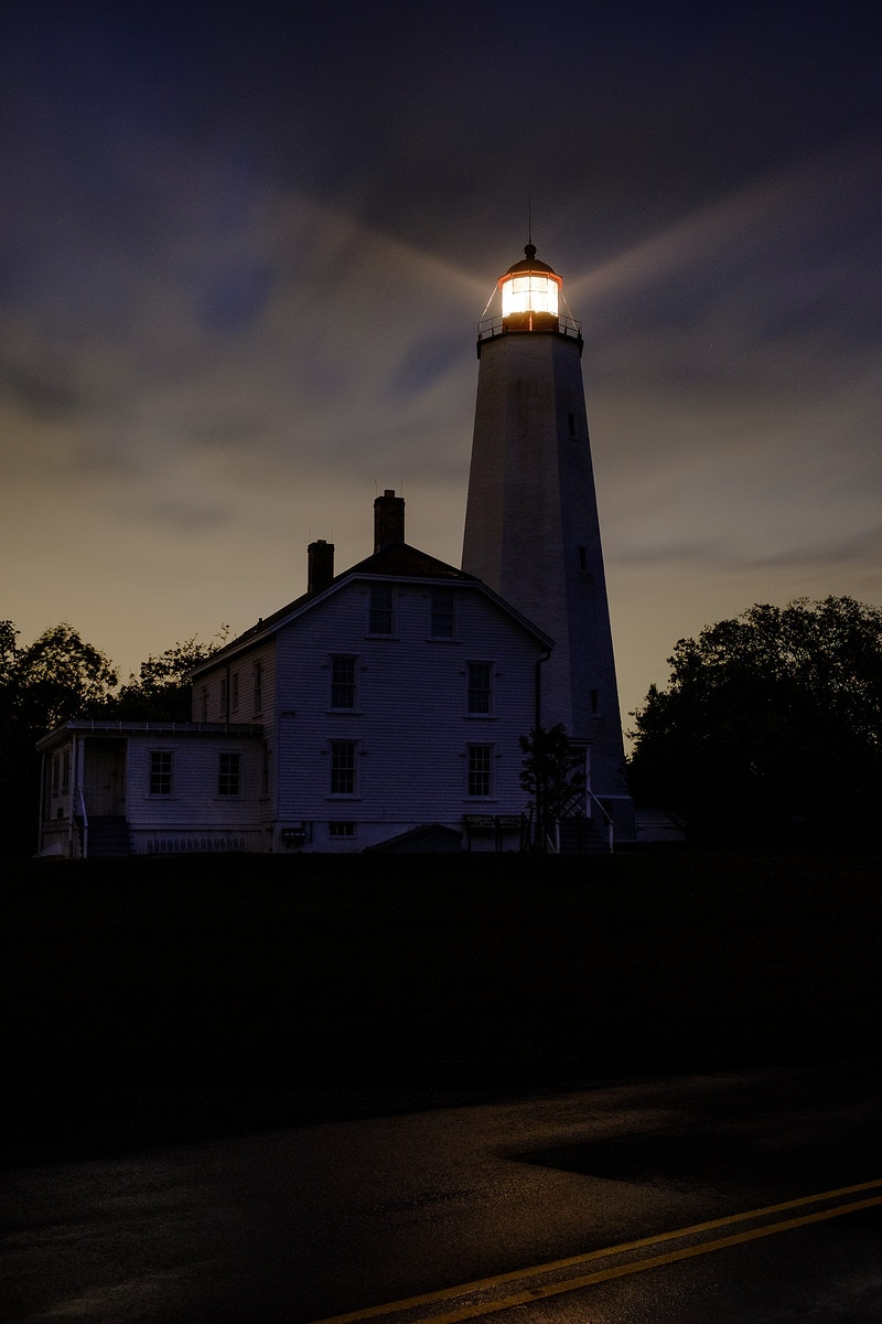 Sandy Hook Light - Ben Ruset Photography
