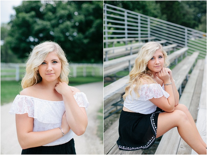 High School Senior - Blossom Lane Photography