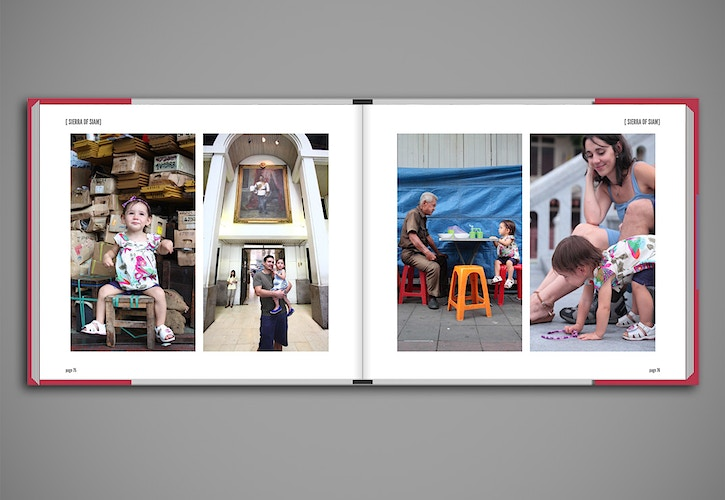 Sierra Of Siam Portraiture Book Design Family Photos Streetphotography - Ben Owen-Browne ~ Story portraits and wedding photographer in Vienna and beyond