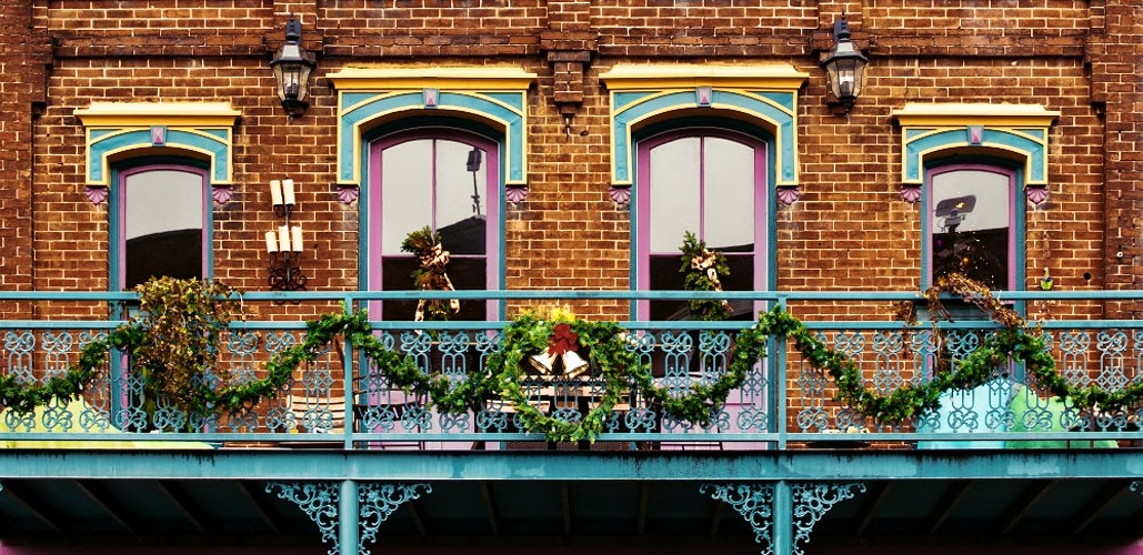 Christmas Decorations Southern Style - Bradel Images