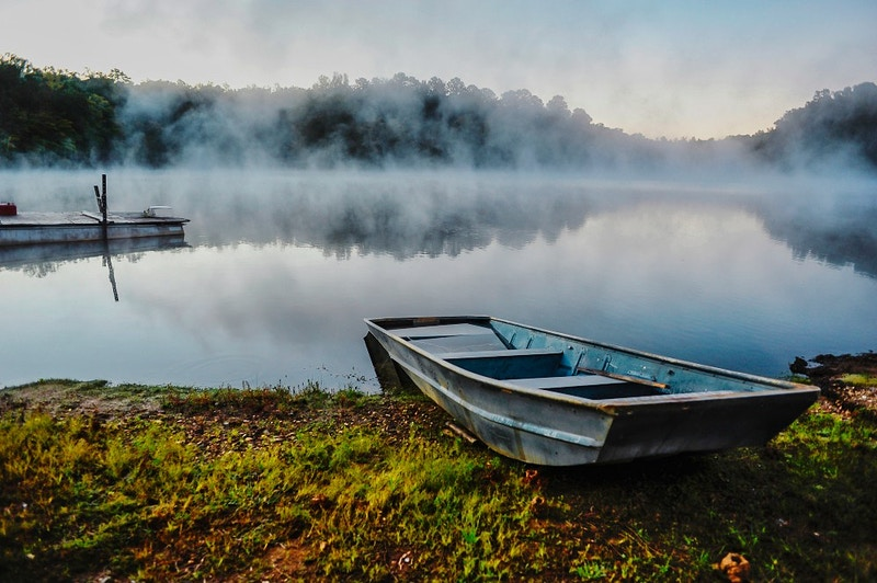 The Lake And The Boat - Bradel Images