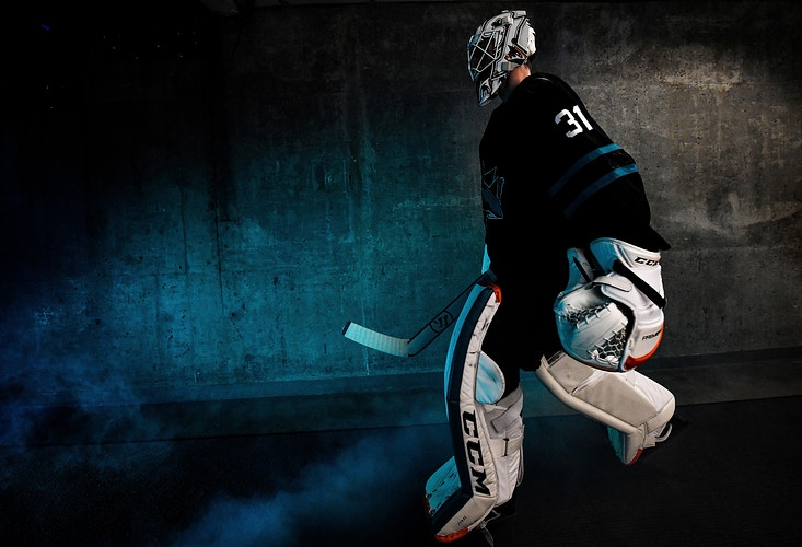 San Jose Sharks - Brandon Magnus
