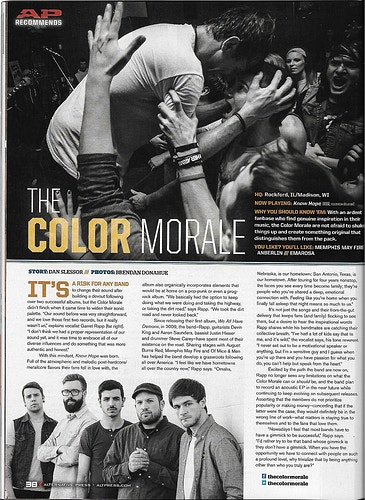 Issue 298 - The Color Morale - Brendan Donahue Photography