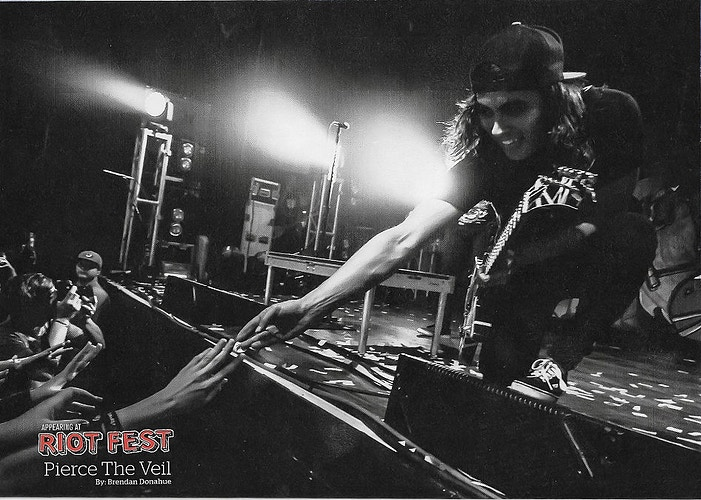 Issue 303 - Vic Fuentes - Brendan Donahue Photography