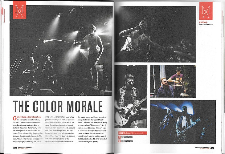 Issue 307 - The Color Morale - Brendan Donahue Photography