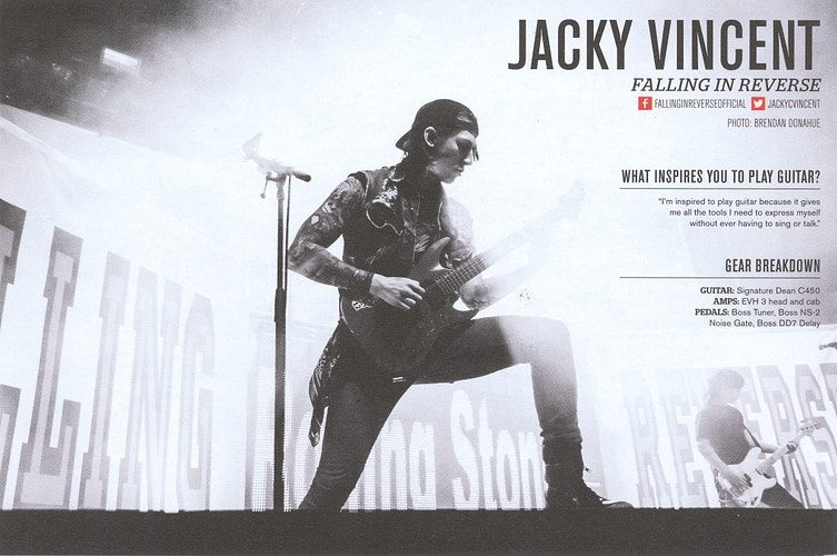 Issue 310 - Jacky Vincent - Brendan Donahue Photography