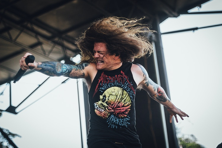 Miss May I Mayhem Festival 2014 - Brendan Donahue Photography