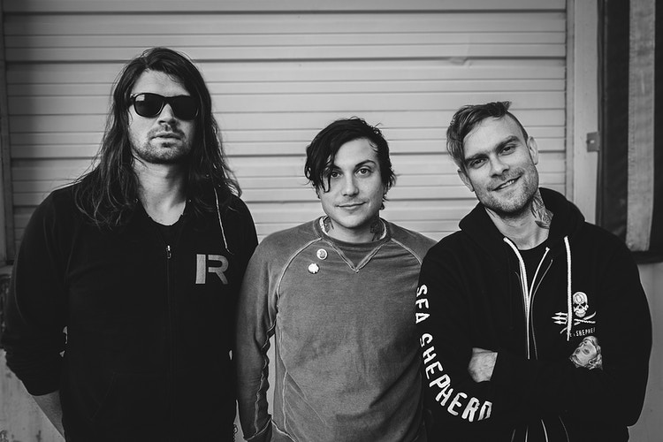 Adam Lazzara, Frank Iero, and Bert McCracken - Brendan Donahue Photography